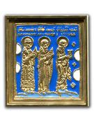 Избранные святые: Иоанн Богослов, Никола Чудотворец и митрополит Филипп