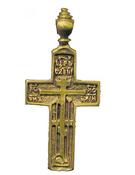 Крест нательный мужской №138