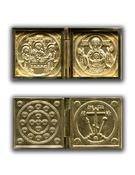 Двустворчатый складень Троица-Знамение