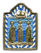 Избранные святые: великомученик Пантелеймон и священномученики Анфиноген и Садок