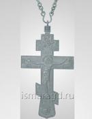 Крест иерейский мельхиор